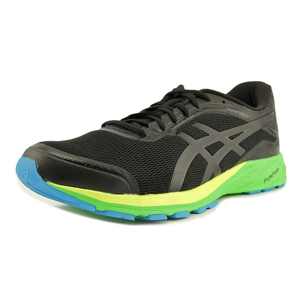 Asics DynaFlyte Men Round Toe Synthetic Black Running Shoe