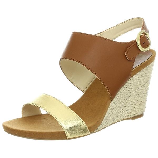 AK Anne Klein Women's Teppy Wedge Sandals