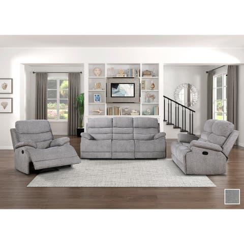 Dixon 3-Piece Reclining Living Room Set
