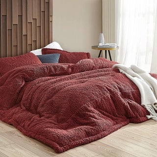 Link to Foxy Fine - Coma Inducer Oversized Comforter - Syrah Similar Items in Comforter Sets
