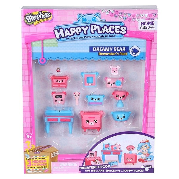 Shopkins Decorator Pack Dreamy Bear Playset - multi