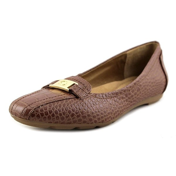 Giani Bernini Womens JILEESE Square Toe Slide Flats