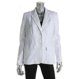 Ralph Lauren Womens Petites Casual Blazer Cotton Slim fit