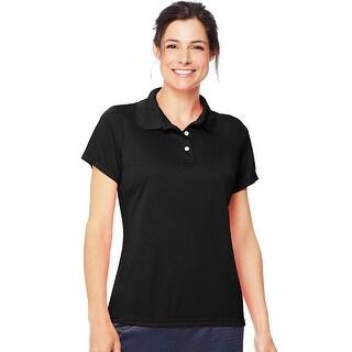 Hanes Cool DRI® Women's Polo - Size - XL - Color - Black