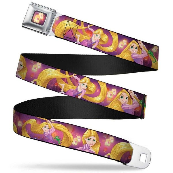 Tangled Lights Full Color Light Purple Gold Rapunzel 4 Tangled Poses Pascal Seatbelt Belt