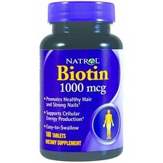 Natrol Biotin (100 Tablets)