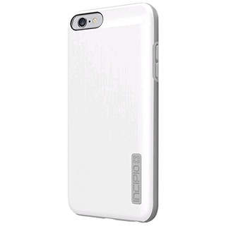 Incipio DualPro Shine Case Cover for Apple iPhone 6 - Plus (White/Gray) - IPH-11