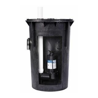 ProFlo PF93015 1/2 HP Simplex Sewage Pump Kit - Pump Includes Tethered Float Switch
