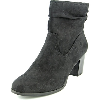 Style & Co Gaillard Women Round Toe Synthetic Black Ankle Boot