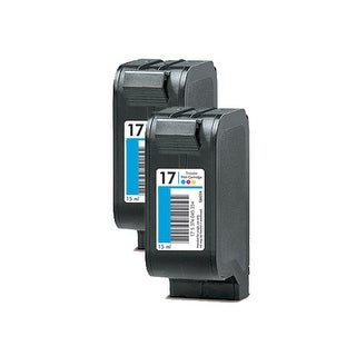 Replacement Ink For HP C6625A / H-17 (2-Pack)