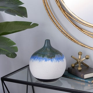 Link to White Ceramic Contemporary Vase 10 x 9 x 9 - 9 x 9 x 10Round Similar Items in Safety Gear