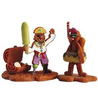 "Lemax Sugar 'N Spice Halloween Village ""What A Pair"" Figurine #52001"