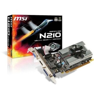 MSI USA GeForce 210 1GB Graphic Card N210MD1GD3M Graphic Card