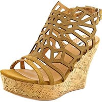 Not Rated Womens Ellice Wedge Sandals - 10