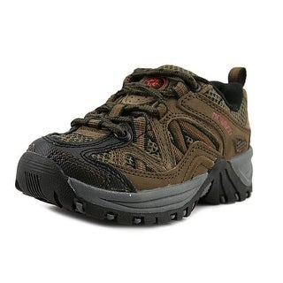 Nevados Luego Low Toddler Round Toe Synthetic Brown Hiking Shoe