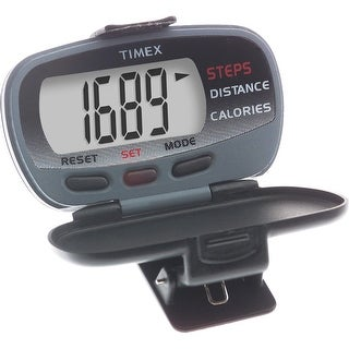 Timex corporation timex ironman pedometer w/ calories burned t5e011