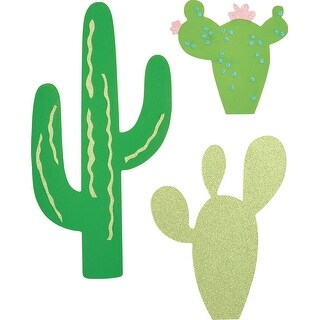 "Kaisercraft Beyond The Page Mdf Cactus Wall Art-17.75""X11"""