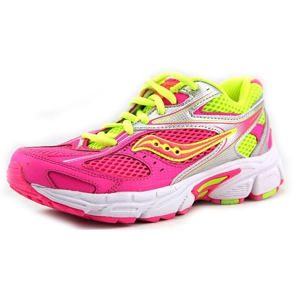 Saucony Cohesion 8 LTT Youth EW Round Toe Synthetic Pink Running Shoe
