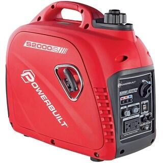 Powerbuilt 2000 Watt Portable Digital Inverter Parallel USB Generator - 941564