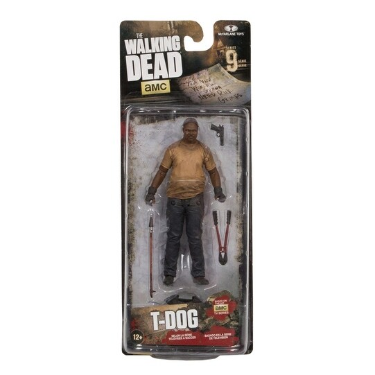 Shop The Walking Dead Tv Series 9 Action Figure T Dog Multi