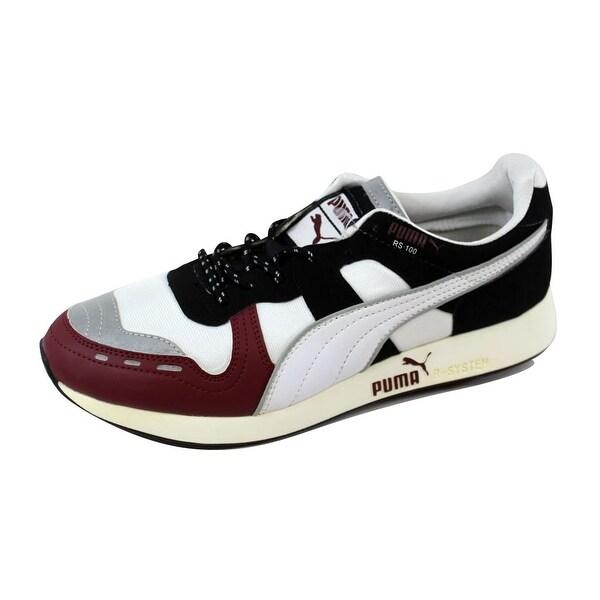 Puma Men's RS100 AW White/Cabernet-Black 356331 03