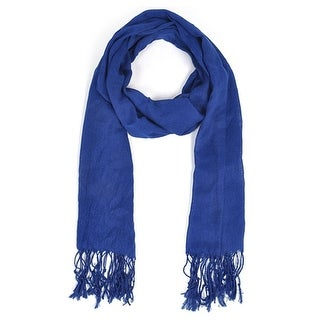 Link to Women's Royal Blue Viscose Scarf Scarves LS4360 - Regular Similar Items in Scarves & Wraps
