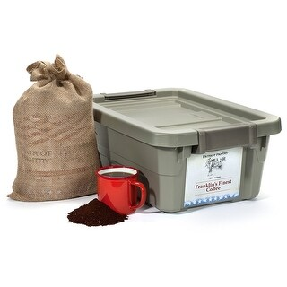 Patriot Survival Coffee - Franklin's Finest - 720 Servings - 25 Year Shelf Life