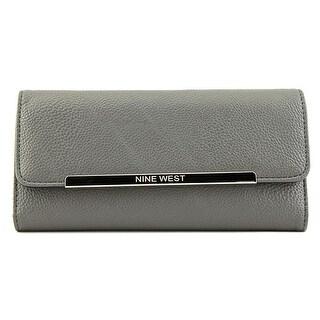 Nine West Mini Bar Sl Women   Synthetic Gray Wallet