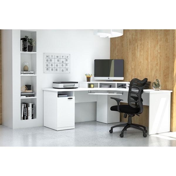 Bestar Hampton Corner Computer Desk. Opens flyout.