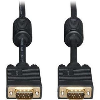 Tripp Lite Vga Coax Monitor Cable High Resolution Cable With Rgb Coax (Hd15 M/M) 30-Ft.(P502-030)