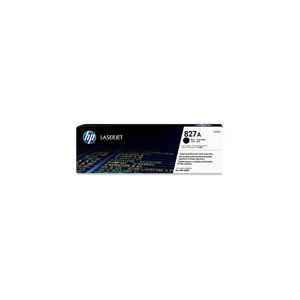 HP 827A Black Original LaserJet Toner Cartridge (CF300A)(Single Pack)