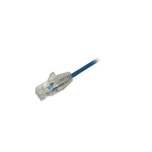 Startech.Com - 3 Ft Blue Cat6 Ethernet Cable - Slim