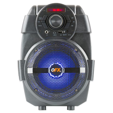 """QFX 5"""" Rechargeable Party Speaker"""