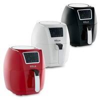 DELLA Air Fryer 5.8 Quart Griller Roaster Oil less Home Kitchen Convection Rapid Circulation Technology BK / RD / WHT