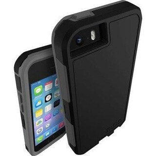 Zagg Invisible Shield Arsenal Case for iPhone 5 & 5S - Black