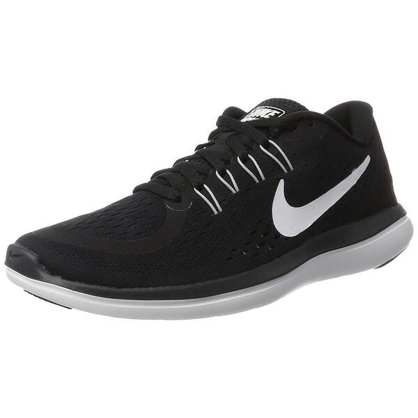 a1d10b0ec21c5 Shop Nike Women's Flex 2017 Rn Running Shoe, Black/White/Anthracite ...