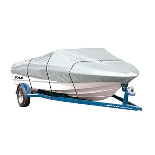 Armor Shield Boat Cover 12'-14'L Beam Width to 68'' V-Hull Fishing Boats