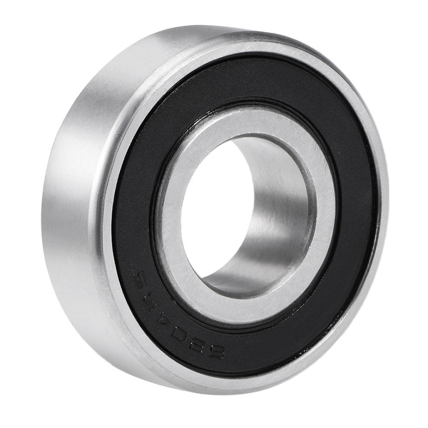 6204-2RS Deep Groove Ball Bearing 20x47x14mm Double Sealed Chrome Steel Bearings - 6204-2RS (20*47*14) (Z4 Lever)