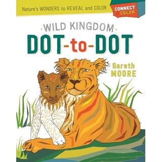 Castle Point Books-Wild Kingdom Dot-To-Dot
