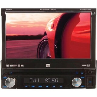 Dual XDVD1170 7 in. Single-Din In-Dash Dvd Receiver