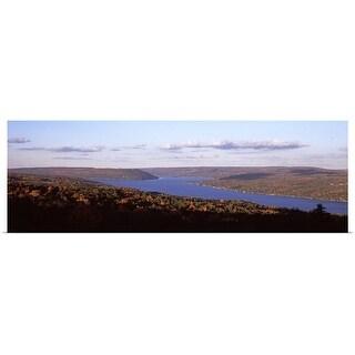 """Keuka Lake, Finger Lakes, New York State"" Poster Print"