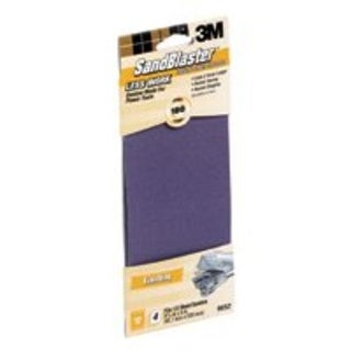 "3M 9652 Power Sanding Sheet 3-2/3""x9"", 180 Grit"