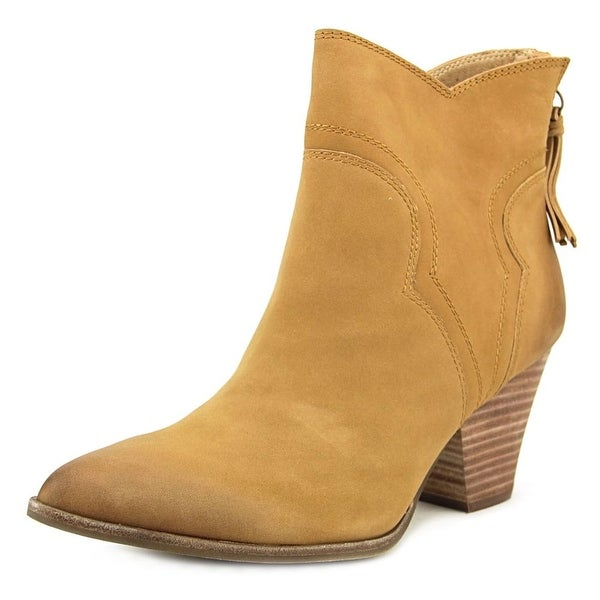 Splendid ASHER Women Pointed Toe Suede Brown Western Boot