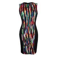 Calvin Klein Women's Sleeveless Scuba Dress - Multi