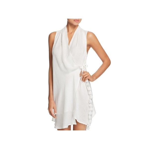 bf956f231e89b Shop Red Carter Womens Amazon Jungle Dress Tunic Wrap Swim Cover-Up - Free  Shipping On Orders Over $45 - Overstock - 26474713