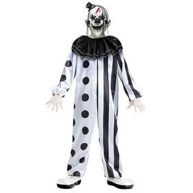 Boys Killer Clown Halloween Evil Demon Costume