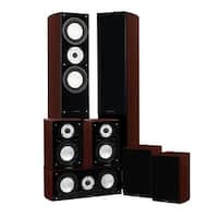 Fluance Reference Series Surround Sound Home Theater 7.0 Channel System - Mahogany (XL70MR)