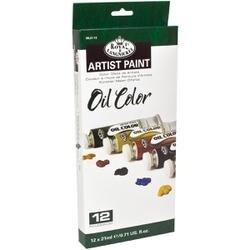 Assorted Colors - Oil Paints 21Ml 12/Pkg