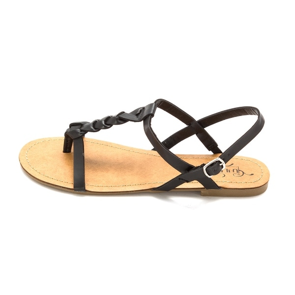 Kenneth Cole Unlisted Womens Pop Candy Split Toe Casual T-Strap Sandals