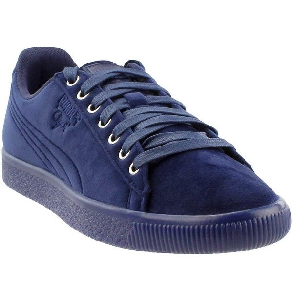 the latest 7f189 1cbc8 ... Men s Loafers. Puma Men  x27 s Clyde Velour Ice Ankle-High Velvet Fashion  Sneaker